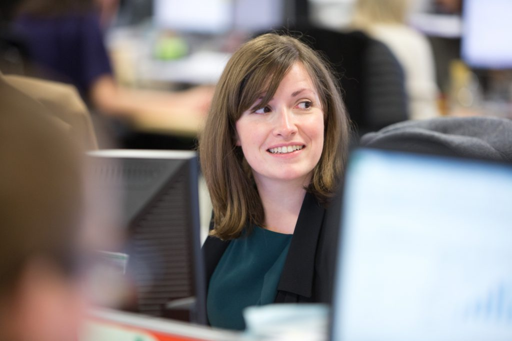 Helen Prior, coordinator of GIN Cardano Group and Client Director Cardano UK